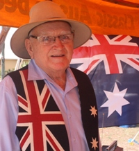 John Major, Bush Poet at Australia Day Noosa