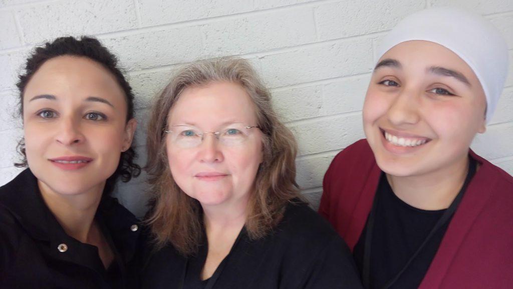 Farah, Anne and Nawal at SIETAR Dublin