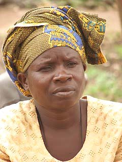 Kikwe Woman in the JUAf project