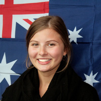 Australian Intern Lucy Warren at RheinAhrCampus