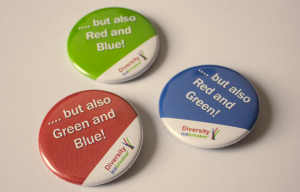 Diversity Icebreaker badges