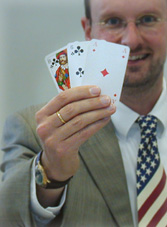 laurence-with-cards