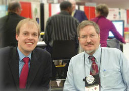 Thomas Berger and Bill Nolting at the NAFSA conference