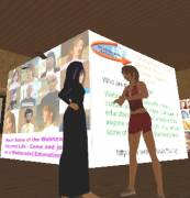 Helen and Anne meet in SL